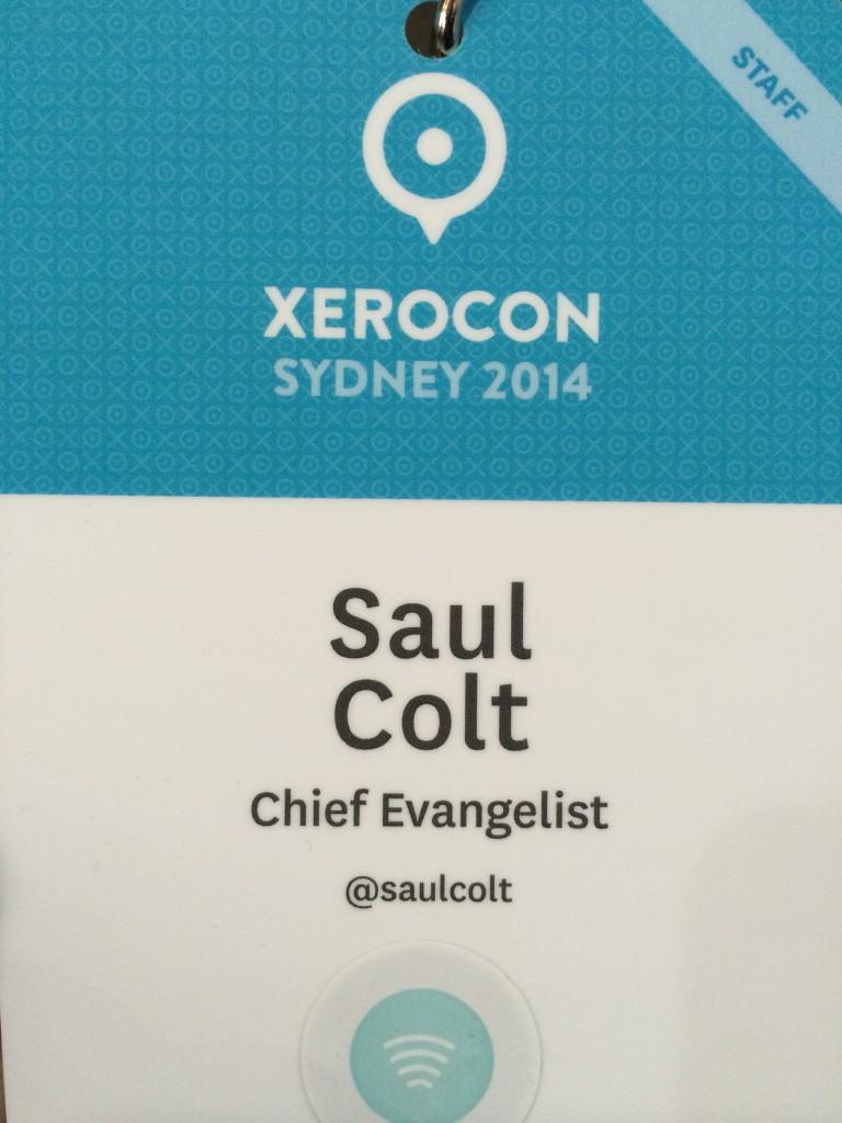 Saul Colt Chief Evangelist - Xero