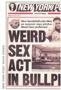 david cone newspaper